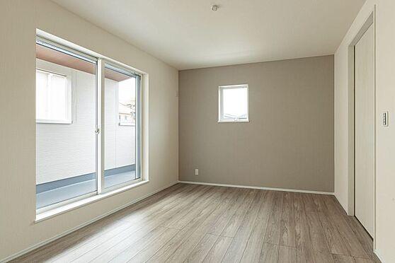 戸建賃貸-名古屋市港区港陽1丁目 光が十分入るように計算された窓(同仕様)