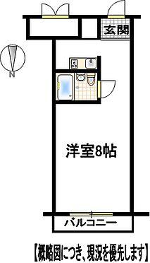 区分マンション-倉敷市昭和1丁目 間取り