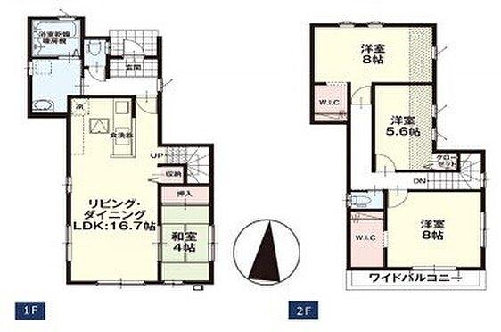 新築一戸建て-富士見市関沢3丁目 1号棟