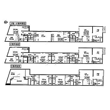 マンション(建物全部)-杉並区上高井戸1丁目 間取り