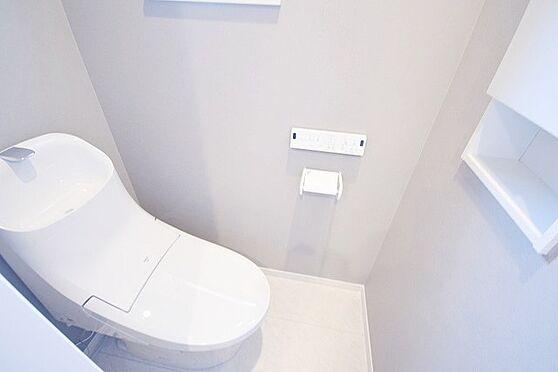 新築一戸建て-八王子市打越町 トイレ