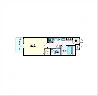 マンション(建物一部)-大阪市中央区上本町西2丁目 間取り