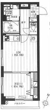 マンション(建物一部)-杉並区和田1丁目 間取り