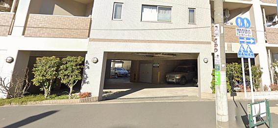 一棟マンション-豊島区西巣鴨1丁目 駐車場入り口