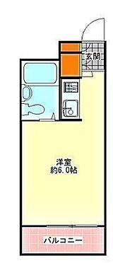 マンション(建物一部)-大阪市生野区勝山南4丁目 南向きバルコニー