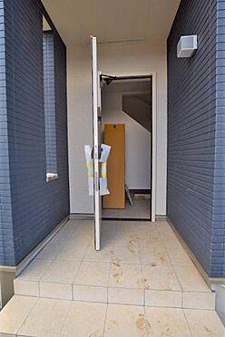 新築一戸建て-白石市東町2丁目 玄関