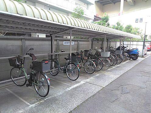 中古マンション-品川区勝島1丁目 屋根付き駐輪場