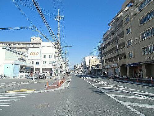 一棟マンション-京都市伏見区深草野田町 前面道路