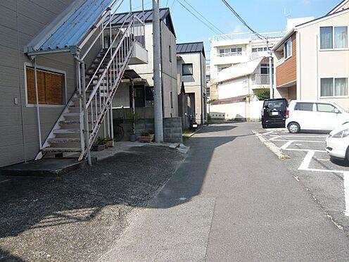 アパート-松山市北持田町 前面道路