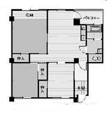 マンション(建物一部)-静岡市駿河区中島 間取り