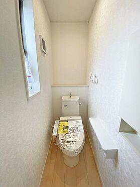 新築一戸建て-奥州市水沢字堀ノ内 トイレ
