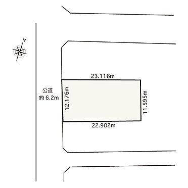 アパート-横浜市西区南浅間町 区画図