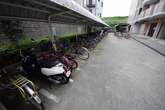 マンション(建物一部)-大阪市淀川区塚本1丁目 ゆとりある駐輪スペース
