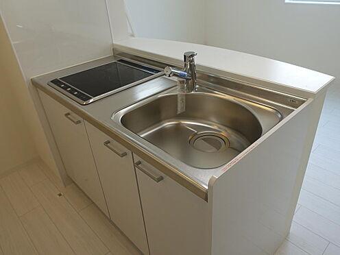 アパート-台東区浅草5丁目 201号室キッチンです。