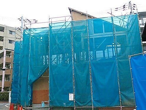 新築一戸建て-北本市中央4丁目 建物外観/建築中*令和2年12月2日撮影