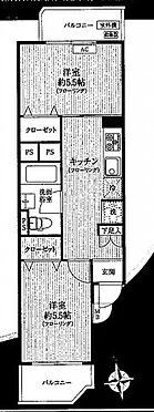 中古マンション-新宿区大久保3丁目 間取り