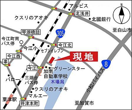 マンション(建物一部)-小松市今江町 地図