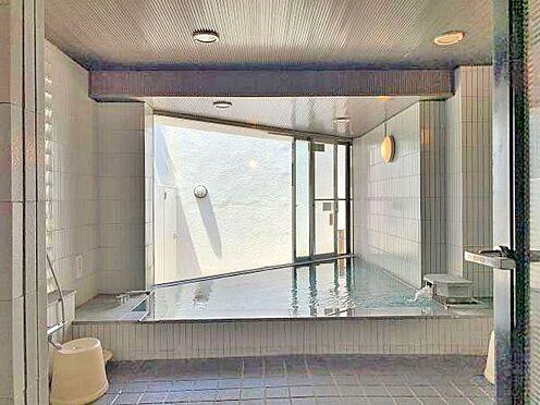 中古マンション-伊東市川奈 〔温泉大浴場〕毎日でも温泉を楽しんで頂けます。