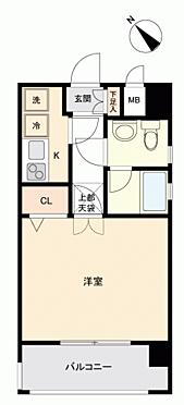 マンション(建物一部)-福岡市博多区下呉服町 間取り
