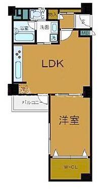 マンション(建物一部)-大阪市西区南堀江1丁目 たくさんの衣類を収納できるウォークインクローゼット付き