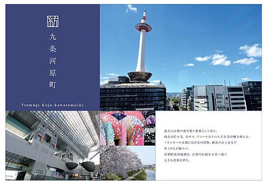 マンション(建物全部)-京都市南区東九条中御霊町 プレゼン資料。表紙
