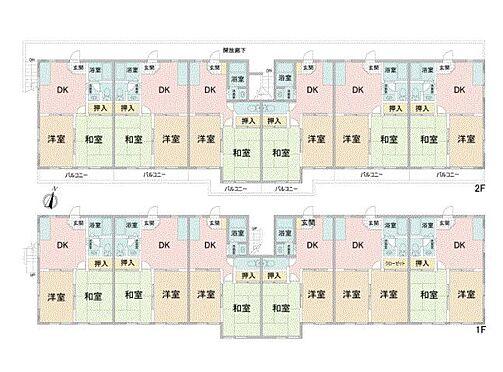 アパート-相模原市南区南台4丁目 ホワイトパレス・ライズプランニング