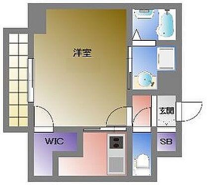 マンション(建物一部)-大阪市西区川口3丁目 3点セパレートだから清潔感があります。