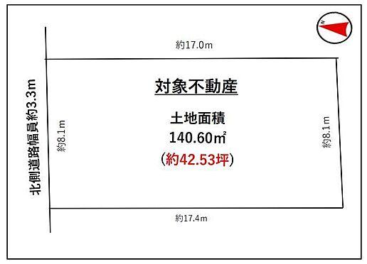 戸建賃貸-豊田市小坂町13丁目 区画図