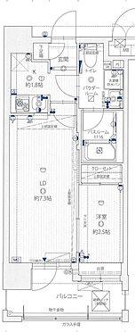 区分マンション-福岡市博多区対馬小路 間取り