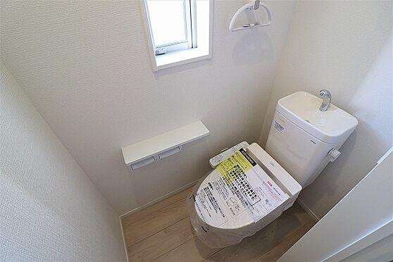 新築一戸建て-登米市中田町石森字舘 トイレ