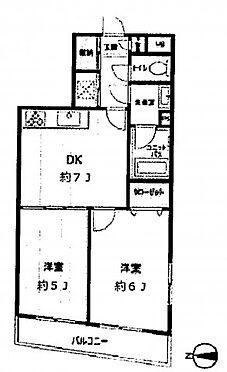 中古マンション-墨田区向島5丁目 間取り