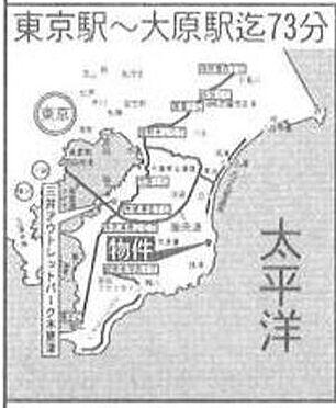 店舗(建物全部)-いすみ市大原 地図