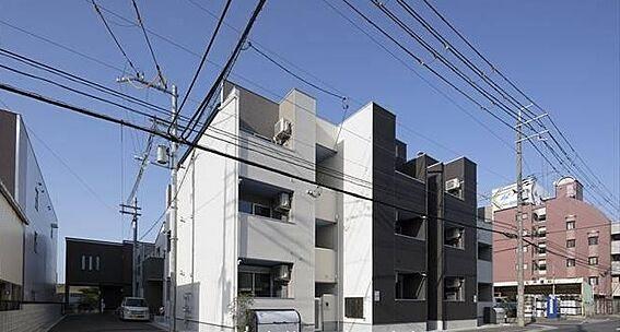 アパート-大阪市平野区長吉川辺3丁目 外観