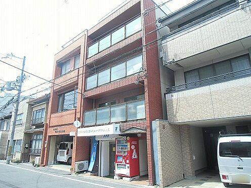 マンション(建物全部)-京都市中京区薬師町 前面道路含む外観