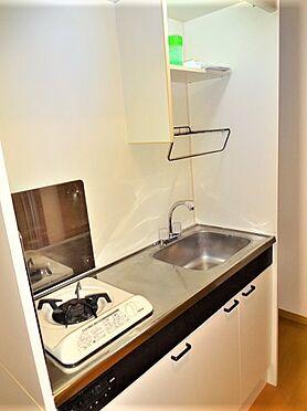 一棟マンション-練馬区桜台4丁目 2020年12月撮影203号室キッチン