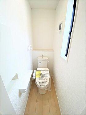 新築一戸建て-栗原市若柳字川北埣柳 トイレ
