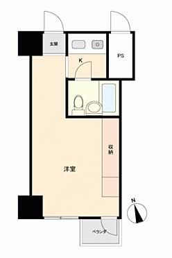 マンション(建物一部)-新宿区東五軒町 間取り