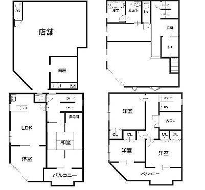 マンション(建物全部)-大阪市東住吉区矢田1丁目 間取り