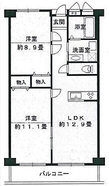 区分マンション-堺市東区引野町3丁 2LDK〜4LDKまで使い方自由な間取り