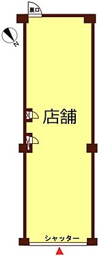 店舗(建物一部)-横浜市鶴見区本町通2丁目 間取り