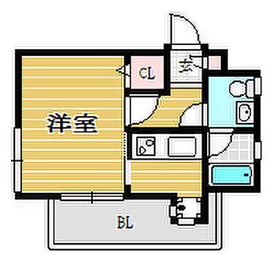 マンション(建物一部)-福岡市南区野間1丁目 間取り