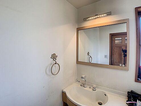 中古一戸建て-半田市のぞみが丘3丁目 大きな鏡が嬉しい洗面台