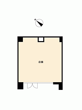 店舗事務所(建物一部)-中央区日本橋堀留町1丁目 間取り