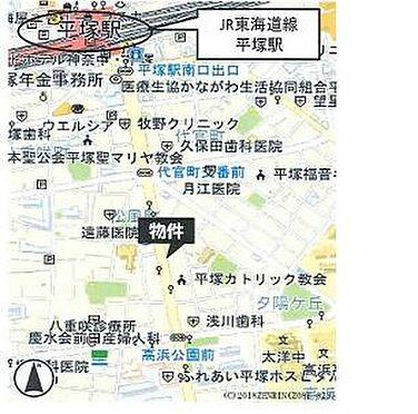 ビル(建物全部)-平塚市夕陽ケ丘 地図