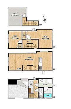 戸建賃貸-名古屋市千種区今池1丁目 築浅の3階建て物件です♪