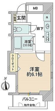 マンション(建物一部)-大阪市中央区大手通3丁目 間取り