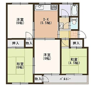 マンション(建物一部)-神戸市垂水区神陵台2丁目 収納が充実したプラン