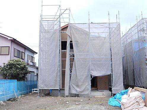 戸建賃貸-北葛城郡広陵町大字三吉 建築工事が始まりました。大切な構造部分もしっかりご確認下さい。モデルルームをご覧頂けますのでお気軽にお問合せ下さい。(2021年6月撮影)