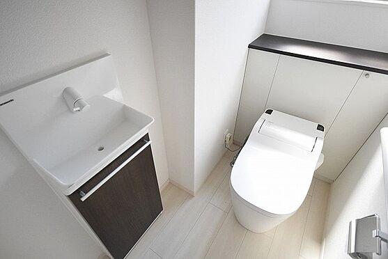 中古一戸建て-八王子市堀之内 トイレ