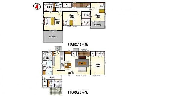 新築一戸建て-名古屋市守山区大字下志段味 間取りは生活のしやすさを重視。家族みんなが気持ちよく過ごすための構造と使いやすい間取りを実現。